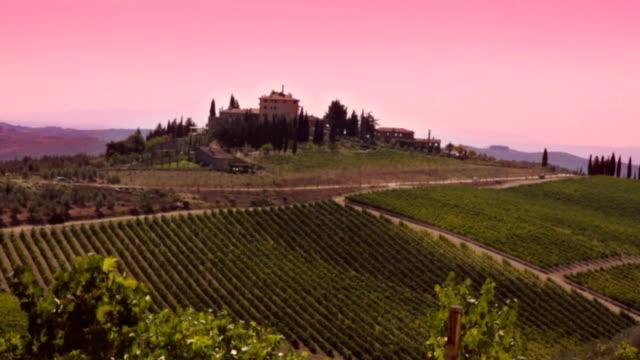 Beautiful Tuscan Scene. HD video