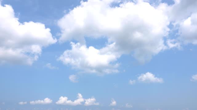 vídeos y material grabado en eventos de stock de hermoso fondo universal cloudscape, lapso de tiempo - blue sky