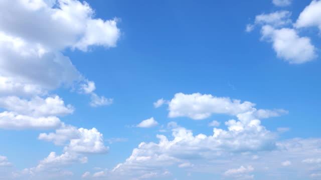 Beautiful Universally Cloudscape background, Time lapse
