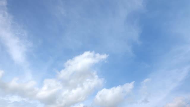 美麗的普世雲景背景,時間推移 - sky 個影片檔及 b 捲影像