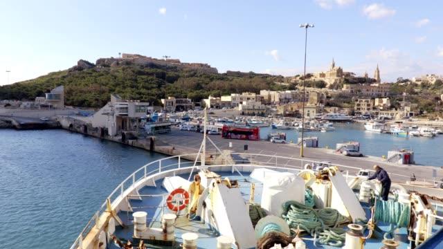 beautiful view of gozo, Malta video
