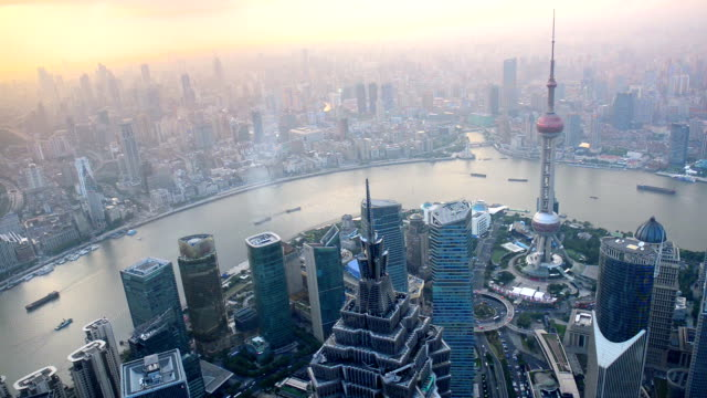 Beautiful view of Shanghai video