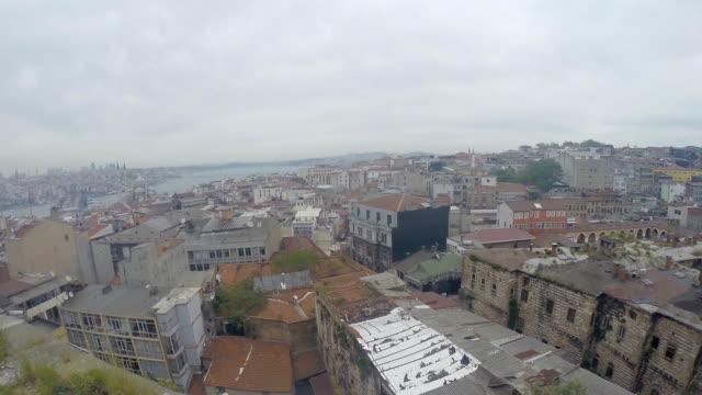 街の美しい眺めの上にございます。 - モスク点の映像素材/bロール