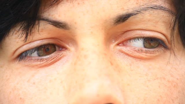 Beautiful Woman Looking at Camera, HD Video video