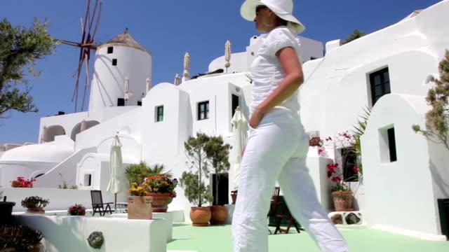 Beautiful women in Greece video