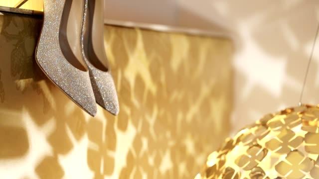 Beautiful women shoes video