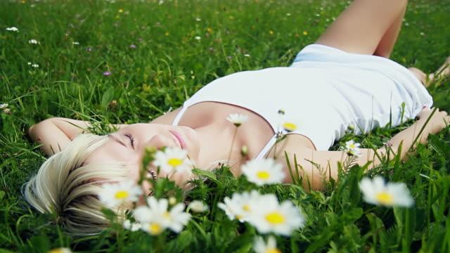 HD DOLLY: Beauty Sleep In Grass video