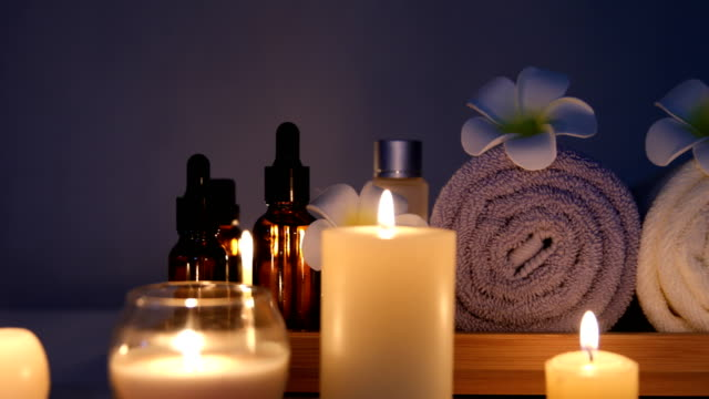 beauty spa candle video