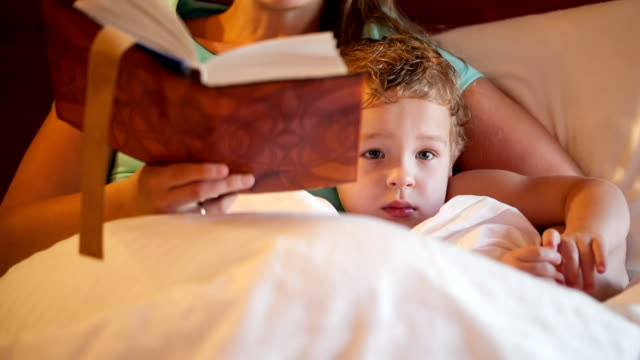 Bedtime reading video