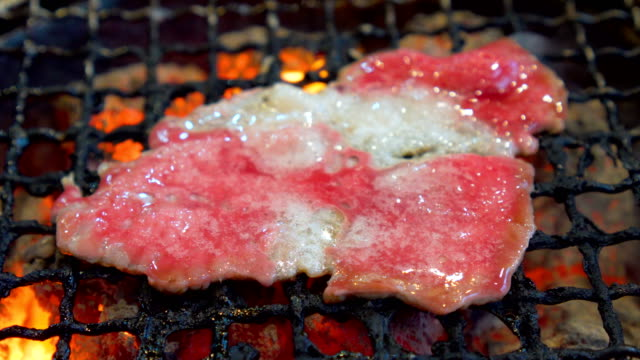 Beef barbecue grill video