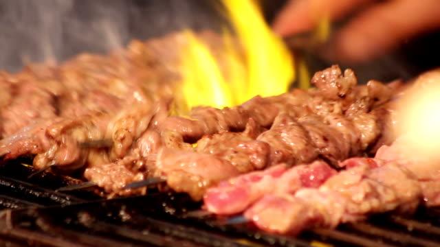 beef kabobs video