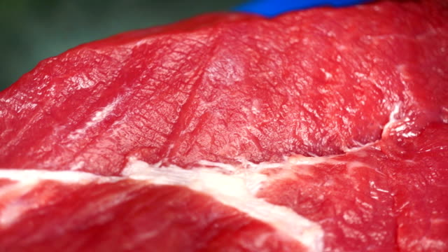 Beef red steak video