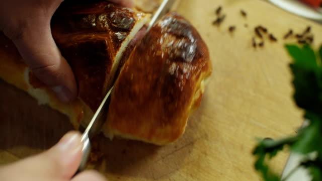 Beef Wellington Beef Wellington roast dinner stock videos & royalty-free footage