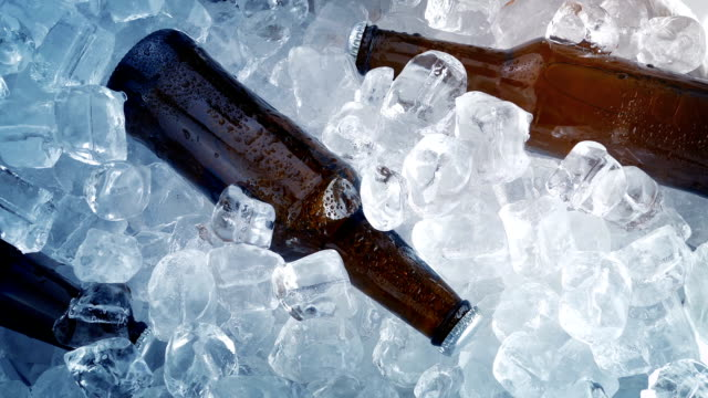 Beer Bottle In Ice - Celebration Concept video