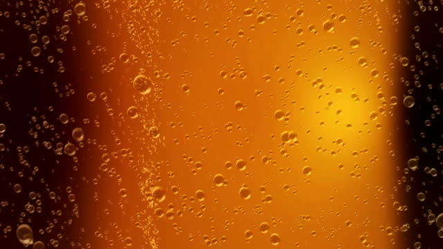 beer bubbles 3d animation video