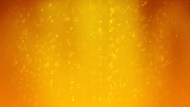 Beer bubbles - loop-ready file video