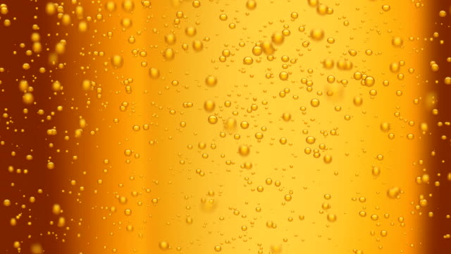 beer bubbles (seamless loop) video