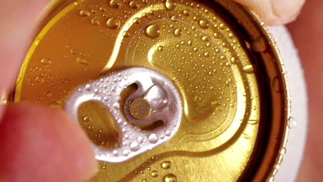 Beer can opening