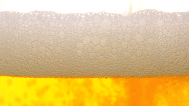 Beer close up video