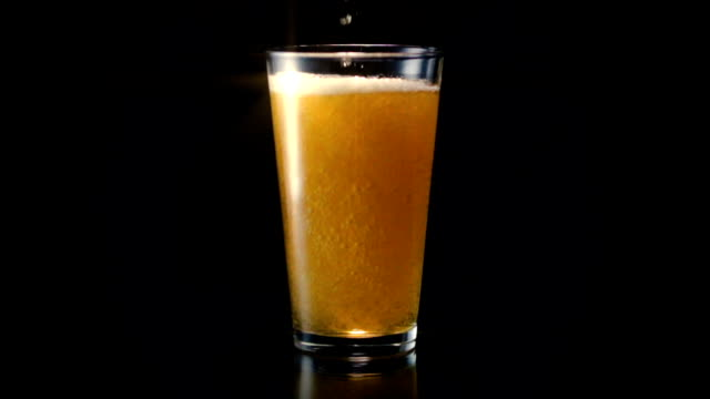 Beer Glass Pour Wide Star Filter video