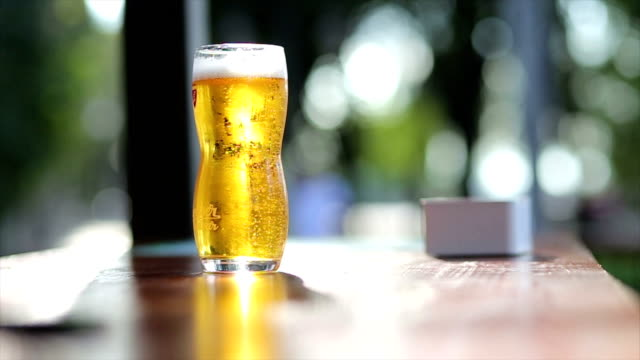 Beer on Desk video