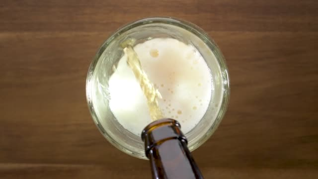 Beer Pour Slow Motion video