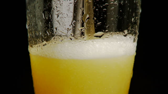 Beer Poured Into Glass NTSC 24p Full HD video