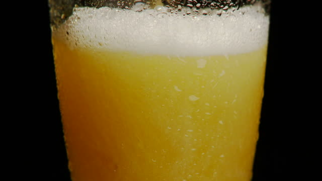 Beer Poured Into Glass NTSC 30p Full HD video