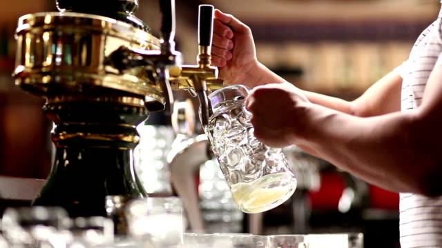 beer - oktoberfest stock videos and b-roll footage