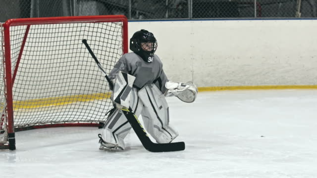 Beginner Goaltender video