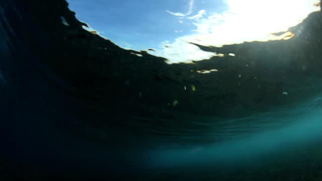 Behind Crashing Wave video