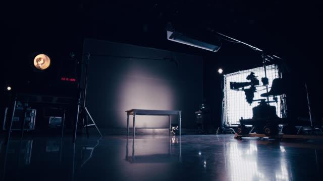 Behind the Scenes Film Set