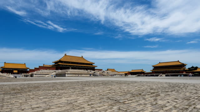 Beijing Forbidden City Square and Palace