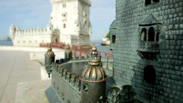 Belem Tower statue video