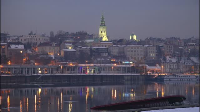 belgrade - sırbistan stok videoları ve detay görüntü çekimi