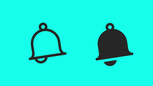 Bell Icons - Vector Animate