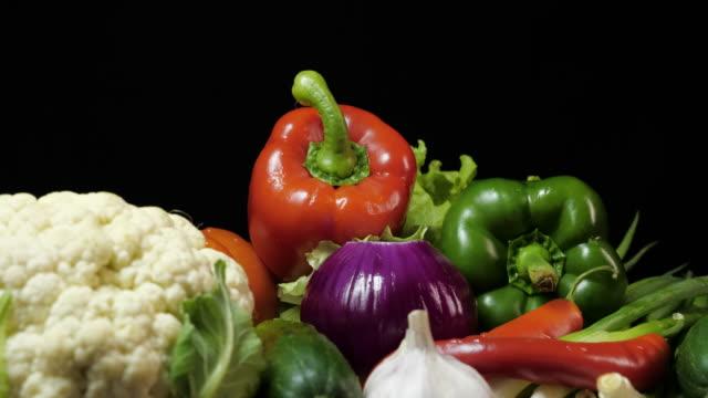 Bell pepper.Close-up.