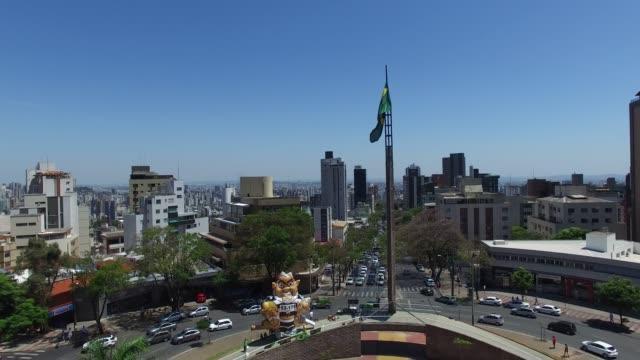 belo horizonte şehir, brezilya - minas gerais eyaleti stok videoları ve detay görüntü çekimi