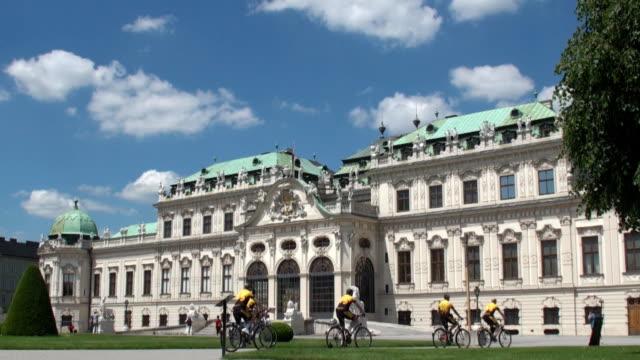 Belvedere Palace - Vienna, Austria video