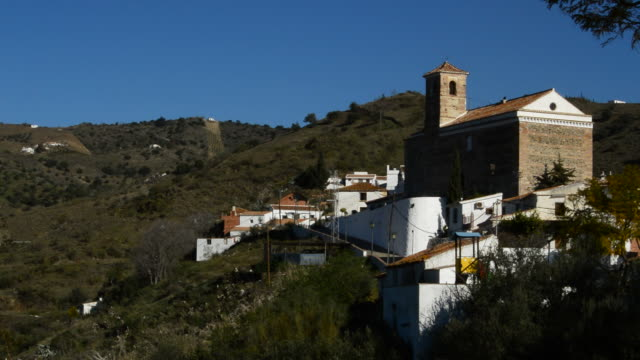 Benaque, native town of the Spanish poet, Salvador Rueda, a sunny day video