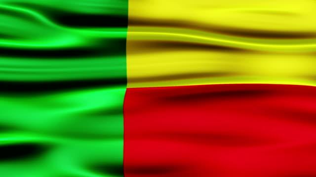 Benin Flag video