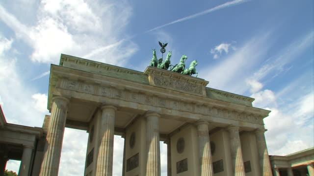 Berlin Brandenburg Gate, Time Lapse video
