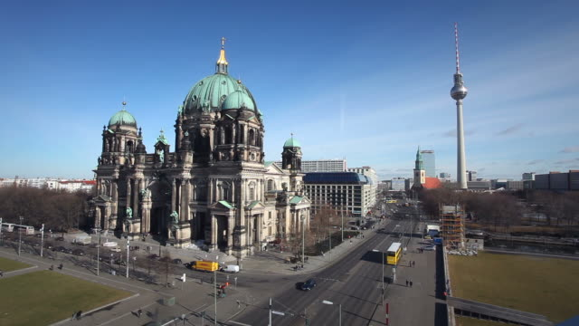 Berlin Cathedral Television Tower - Time Lapse video