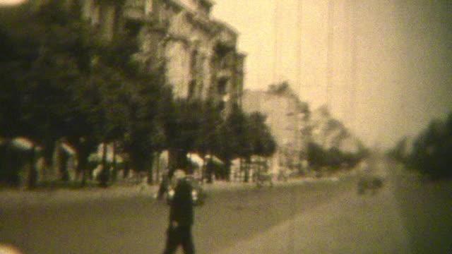 berlin germany (archival 1950) - berlin city bildbanksvideor och videomaterial från bakom kulisserna