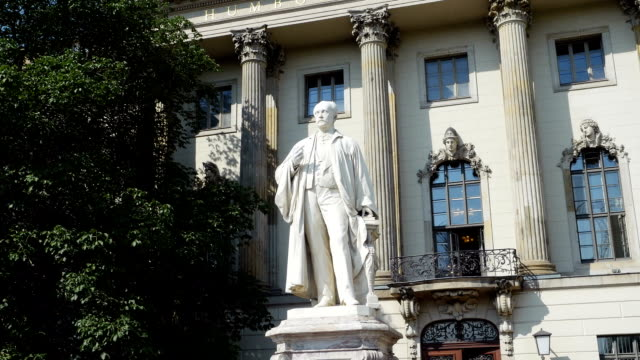 Berlin Humboldt University Main Building (4K/UHD to HD) video