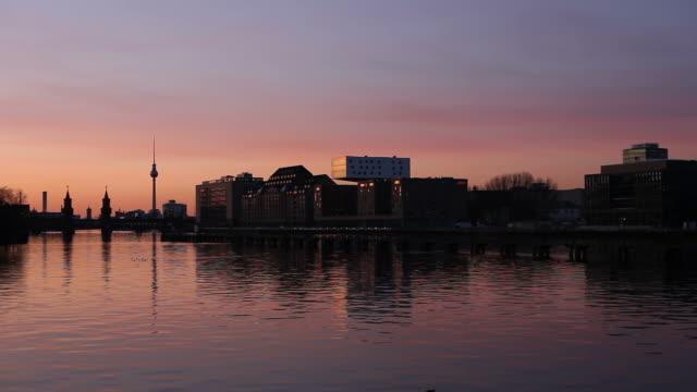 Berlin Panorama - Spree video