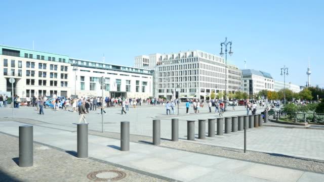 PAN Berlin Pariser Platz And TV Tower video