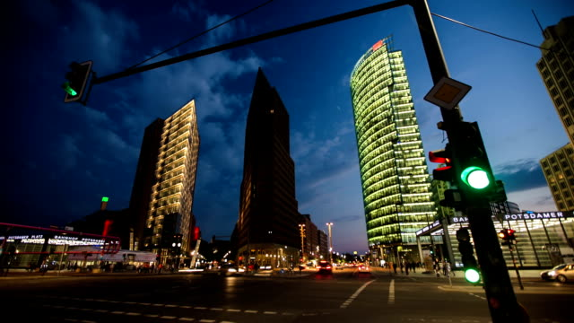 TIME LAPSE: Berlin Potsdamer Platz video