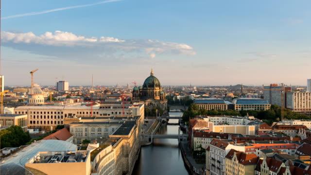 Berlin Skyline time lapse video