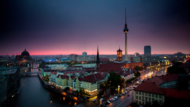 Berlin Skyline video